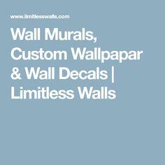 Wall Murals, Custom Wallpapar & Wall Decals | Limitless Walls