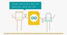 Nova atualização do Arduino Web Editor agora permite compartilhamento