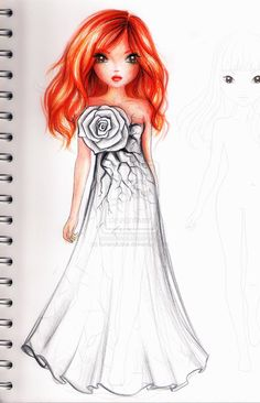 White Rose by funandcake on deviantART
