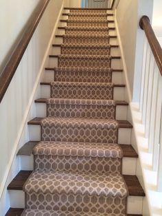 My New Stair Runner From Myers Carpet