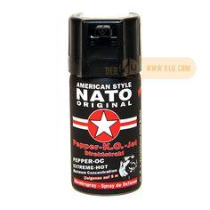 Pfefferspray NATO KO Jet Direktstrahl 40ml