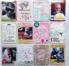 Sandra's Project Life Page - DT INSPIRATION! Craft Garden  Inspiracja Sandry - Strona project Life! Jak Wam się podoba?