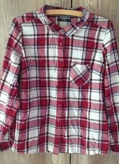 Kup mój przedmiot na #vintedpl http://www.vinted.pl/damska-odziez/koszule/10816818-bordowa-koszula-w-krate