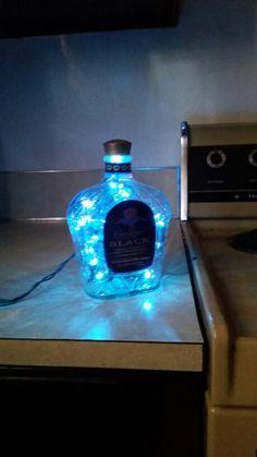 Cool blue Crown Lamp
