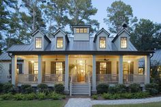 Guerry Lumber - Gallery - Exterior Finishes I love the idea of the width of the columns and the brick at the footing