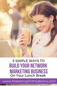 Building your network marketing business part time can be a slow process especially if not leveraging social media.  Here are 5 simple tips to build your network marketing business part time leveraging social media.  #networkmarketingtips  #socialmedia #mlmtips #networkmarketingbusiness