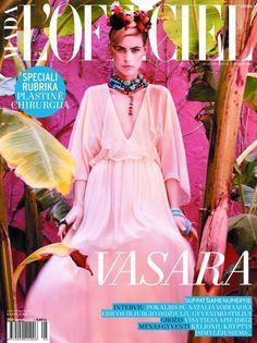 CAPAS DE REVISTAS/ Junho e Julho 2011- L'officiel Brasil, Vogue China, Elle China, Costume, Grazia Francesa,Amica Indonesia e mais.