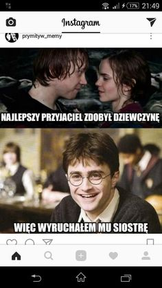Wtf Funny, Funny Cute, Polish Memes, Harry Potter Fandom, Bad Mood, Really Funny, Best Memes, Hogwarts, I Laughed