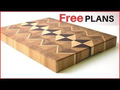 MAKING AWESOME CUTTING BOARDS // 3 EPIC ENDGRAIN CUTTING BOARDS - YouTube