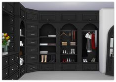 built-in closet hell has spoken sims cc sims 4 mods, sims Kitchen Background, Living Room Background, 2d Game Background, Episode Interactive Backgrounds, Episode Backgrounds, Victorian Furniture, Furniture Vintage, Industrial Furniture, Vintage Industrial