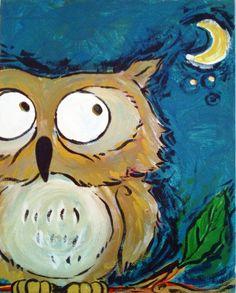 'Starry Owl' by KpQuePasa