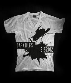 T-shirt collection 2015 Designer: Federico Poletti for Dark Tiles #darktiles #design #tshirt #art