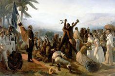 «L'abolition de l'esclavage dans les colonies françaises» de François-Auguste Biard (1849)
