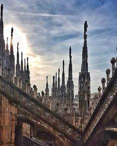 ........... potete dire quel che volete.... #milanodavedere foto di  : @ol.ita Milano da Vedere