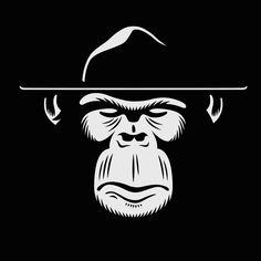 Sgt. Monkey logo design