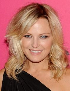Top 10 Party Hairstyles - Malin Akerman's side-swept bangs and loose waves are the perfect cocktail party 'do