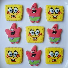 sponge bob and patrick, done perfectly