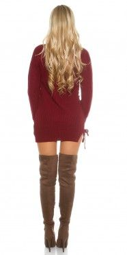 Sexy KouCla knit jumper with lacing