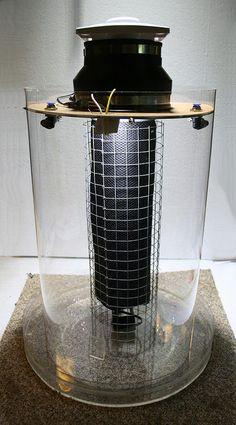 Hygrolon/EpiWeb evaporative cooler (prototype)