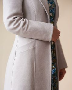 Pattern review of the By Hand London Rumana coat, shortened to knee length