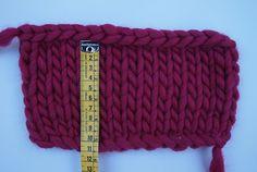 adaptar un patrón según el gauge y el grosor del ovillo seleccionado