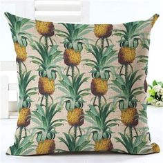 Flamingo Customized Cushion Covers Pineapple Flower Birds Custom Pillows Cover 20Styles Geometry Baby Sofa Decoration Gift