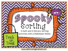 Spooky Sorting Fun and a Freebie