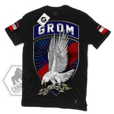 CAMOSHOP JW GROM czarna flagi