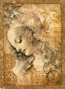 (Simonetta Vespucci by Leonardo da Vinci)