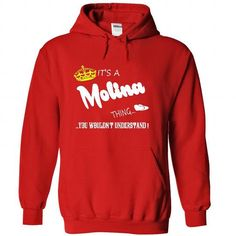 Its a Molina Thing, You Wouldnt Understand !! tshirt, t - #grafic tee #yellow sweater. PRICE CUT  => https://www.sunfrog.com/Names/Its-a-Molina-Thing-You-Wouldnt-Understand-tshirt-t-shirt-hoodie-hoodies-year-name-birthday-4850-Red-47634856-Hoodie.html?id=60505