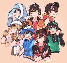 Boboiboy Anime, Cartoon As Anime, Cartoon Games, Cartoon Movies, Cartoon Art, Anime Art, Kawaii Anime, Anime Galaxy, Boboiboy Galaxy