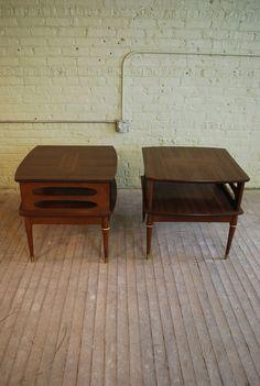 Antique Mid Century Mod Wood Metal Black Typewriter Stand Typing Writing Table Euphoria