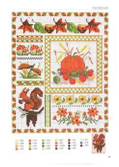 annadrianna — «Cross stitch alphabet - Interesting color patterns - [scanned version] HD» на Яндекс.Фотках