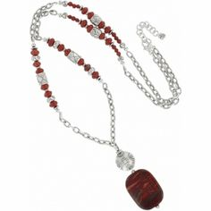 Afrikanz Long Necklace  -   http://www.shopriverrock.com