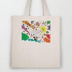 Coexist Tote Bag ~ funky, unusual