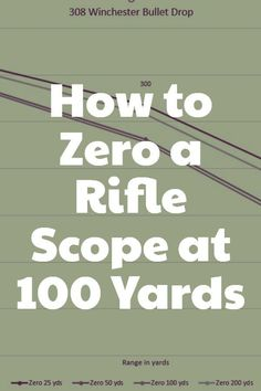 Find out all you need to know about the process of zeroing a rifle scope at a distance of 100 yards. Why exactly 100 yards? Find out for yourself! Shooting Targets, Shooting Guns, Shooting Range, Shooting Sports, Archery Targets, Hunting Rifles, Archery Hunting, Deer Hunting, Coyote Hunting