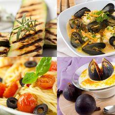 Het weekmenu is weer online. Met deze week onder andere alle ingrediënten voor een Italiaans etentje: bruschetta met gegrilde courgette en Parmezaan, spaghetti met tomaatjes en olijven en Italiaanse vijgen.  http://www.gezondheidsnet.nl/wat-eten-we-vandaag