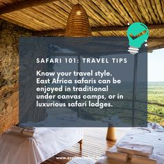 Get to know the best way to experience an African Wildlife Safari. Whether its the perfect time, destination or lodge, we're here to help make your trip to Africa the best vacation yet. Travel more and explore. #explorer #explorersafari #safaritips #tips #travel #traveltips #EastAfrica #Africa #wildlife #safari #vacation #bucketlisttravel #bucketlist #safari101 #adventure #traveltoafrica #holidays #vacationideas #travelinspo #thisisafrica #travelstyle #luxurytravel #camp #lodge #explore Private Safari, Wildlife Safari, East Africa, Africa Travel, Best Vacations, Luxury Travel, Travel Style, Travel Tips, African