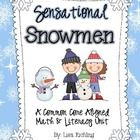 Are you looking for a pack to pack those few weeks before winter break in a meaningful way. This 133 page snowman themed pack includes 7 literacy a...