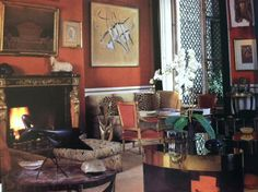 It's no surprise that Jacques Grange is such an amazing interior designer when you find out that he learned the ropes from legendary French designer Henri Samuel.  The photos here of just one room in Samuel's Paris apartment in a hotel particulier on rue Faubourg Saint-Honoré illustrate the way he perfectly combined antiques with modern pieces to create a […]