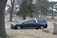 2016 Cadillac XTS Crown Regal Traditional Landau Hearse by Armbruster Stageway