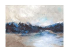 Saint Marys Lake by Lorent and Leif for Minted
