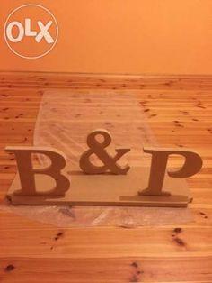 Napisy, litery na stół weselny, dekoracja drewniana, na ZAMÓWIENIE Gliwice - image 1