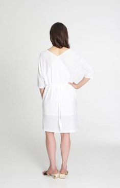 Dignity Dress White