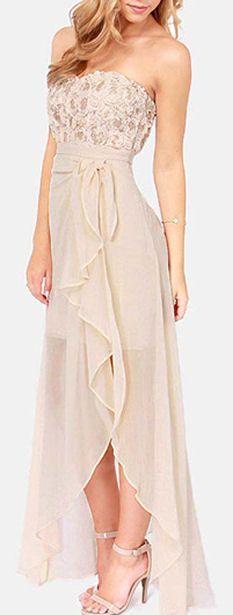 Floral Split Dress