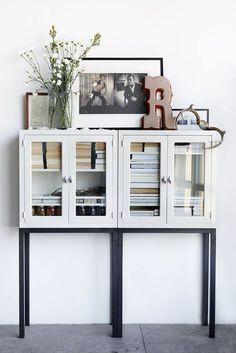 black and white neutral home decor via emmas designblogg. / sfgirlbybay
