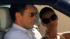 """""""Michael, what happened?"""" [Fi Glenanne]  """"He didn't want to make friends."""" [Michael Westen]   Pictured: Michael Westen (Jeffrey Donovan) and Fiona Glenanne (Gabrielle Anwar)"""