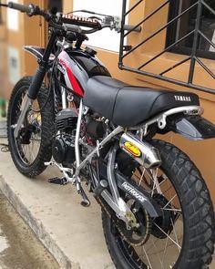 Dt Yamaha, Motos Yamaha, Yamaha Cafe Racer, Yamaha Motorcycles, Custom Motorcycles, Custom Bikes, Tracker Motorcycle, Scrambler Motorcycle, Off Road Bikes