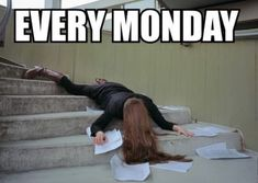 Monday, I hate this day really - http://www.dravenstales.ch/monday-i-hate-this-day-really/