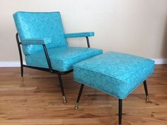 1950s Howell Modern Metal Furniture Dining Chairs with